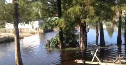 Flooding from Isaac remains in Louisiana