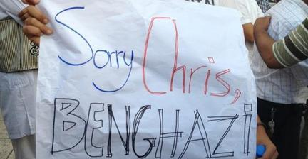 Libyans raise their voices against Benghazi violence