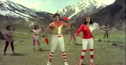 'Kashmir sweaters' dancing up a 1980s storm