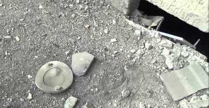 Activists Visit Site of Alleged Chemical Attack in Zamalka