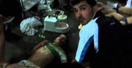 Footage of alleged chemical attack shown to Senate Intelligence Committee