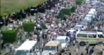 Thousands gather for over 80 funerals held in Yemen