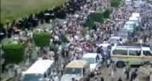 Thousands gather for over 80 funerals held in Yemen